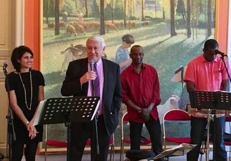 Chanté Nwel à la Mairie du 16ème