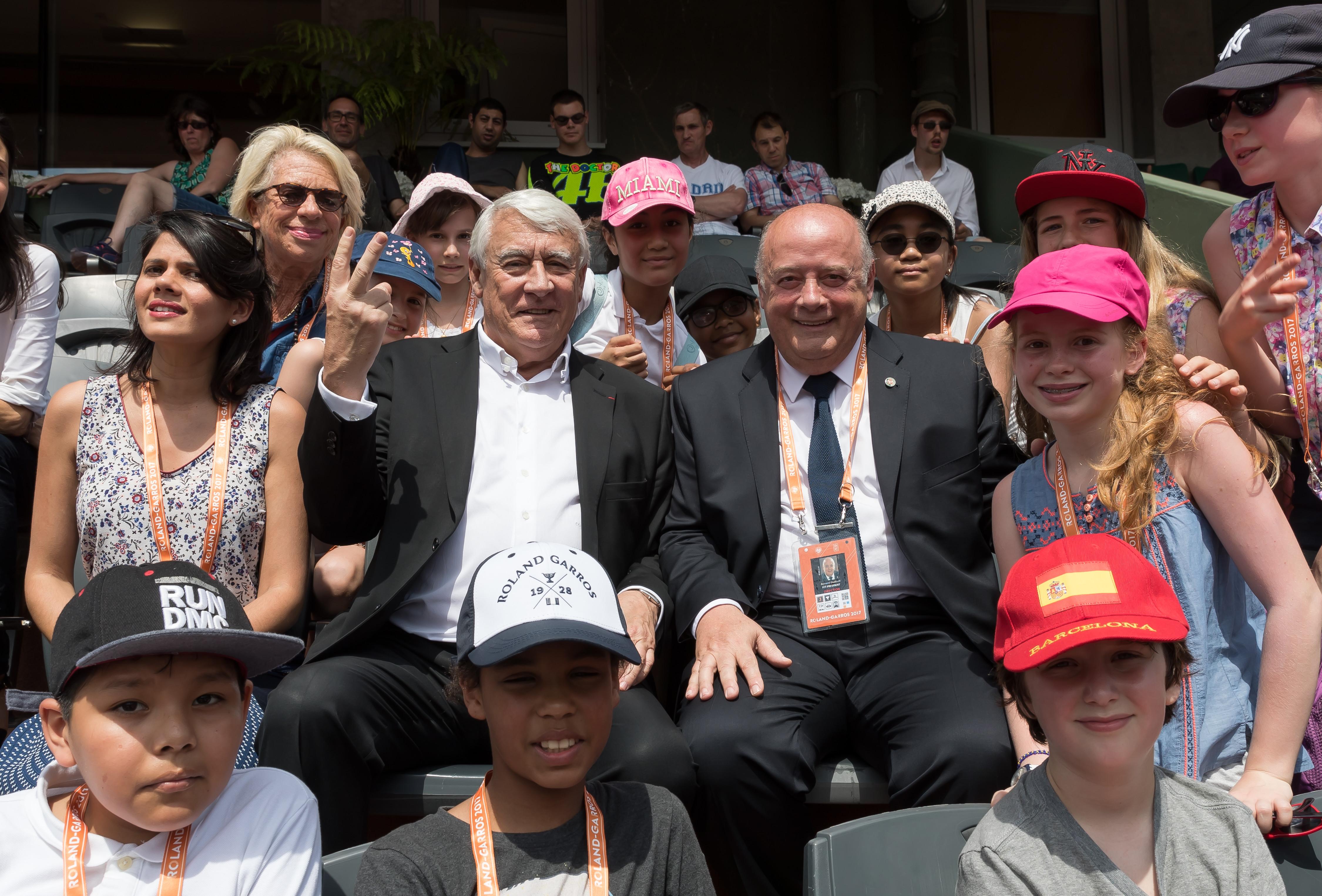 La Caisse des Ecoles du 16ème aux Internationaux de Roland Garros 2017